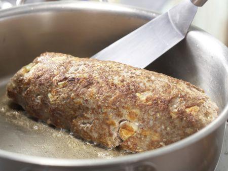 Pilzhackbraten in Rahmsauce: Zubereitungsschritt 7