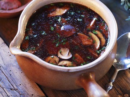 Rezept: Pilzsuppe
