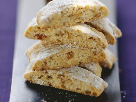 Pinienkern-Aprikosen-Kekse (Cantucci)