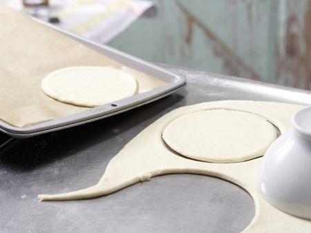 Pizza-Gesichter: Zubereitungsschritt 6