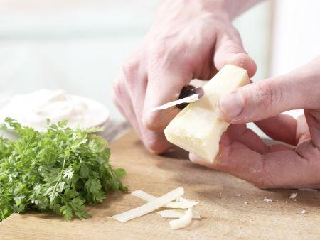 Pizza mit grünem Spargel: Zubereitungsschritt 7