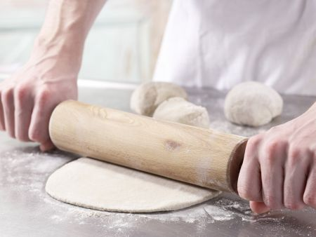 Pizza auf indische Art: Zubereitungsschritt 9