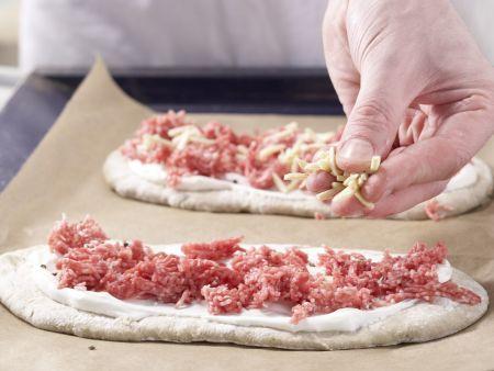 Pizza mit Lammhack: Zubereitungsschritt 6