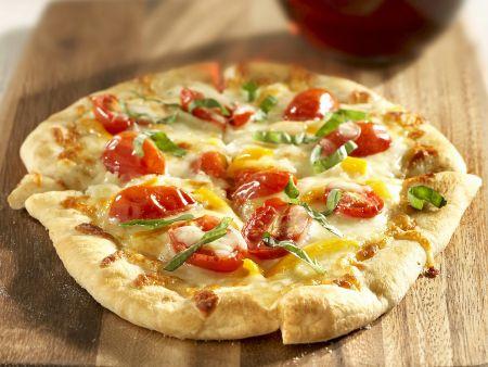 Rezept: Pizza mit Gemüse