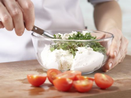 Pizza Primavera: Zubereitungsschritt 5