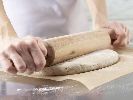 Pizza Primavera: Zubereitungsschritt 6