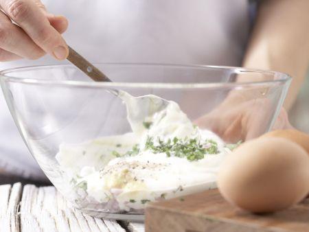 Pizza mit Roastbeef: Zubereitungsschritt 6