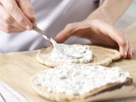 Pizza mit Roastbeef: Zubereitungsschritt 8