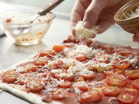 Pizzaschnecken: Zubereitungsschritt 5