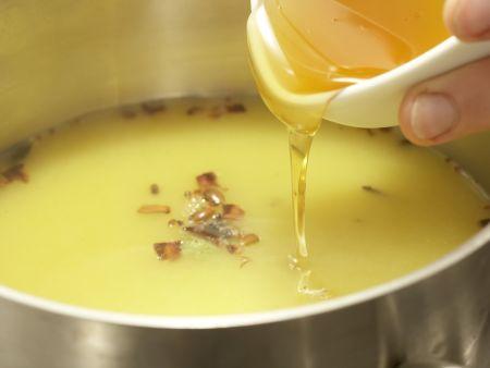 Pochierte Clementinen: Zubereitungsschritt 1