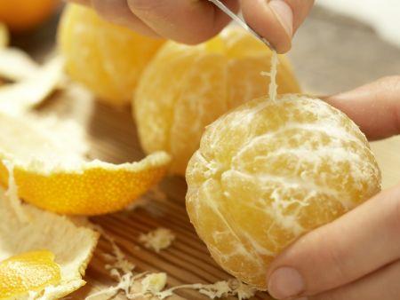 Pochierte Clementinen: Zubereitungsschritt 3
