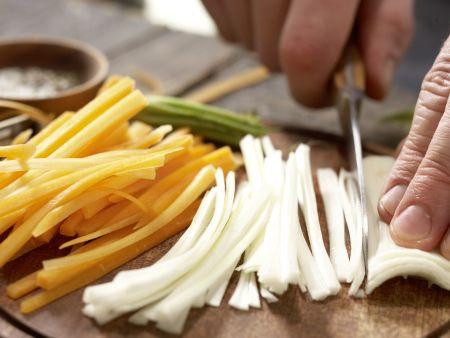 Pochierte Hähnchenbrust: Zubereitungsschritt 7