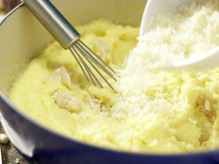 Polenta mit gebackenem Knoblauch: Zubereitungsschritt 8