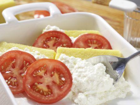 Polenta-Käse-Auflauf: Zubereitungsschritt 7