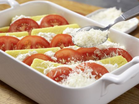 Polenta-Käse-Auflauf: Zubereitungsschritt 8