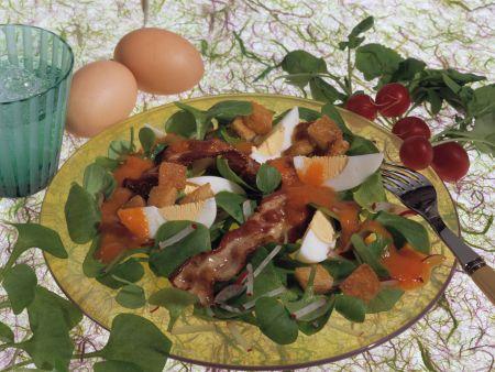 Portulak-Eier-Salat