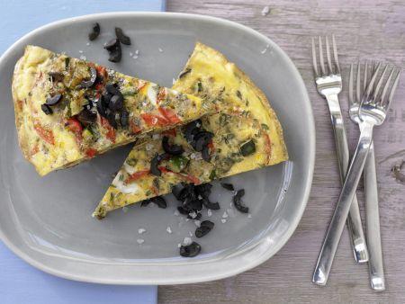 Kochbuch für Omelette-Rezepte