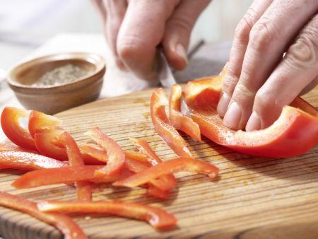 Provenzalisches Gemüse-Omelett: Zubereitungsschritt 2
