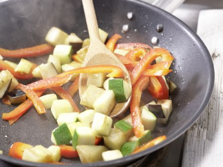 Provenzalisches Gemüse-Omelett: Zubereitungsschritt 3