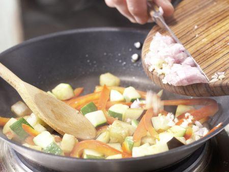 Provenzalisches Gemüse-Omelett: Zubereitungsschritt 5
