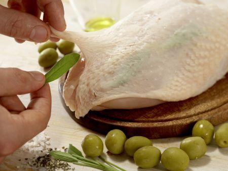 Provenzalisches Hähnchen: Zubereitungsschritt 9