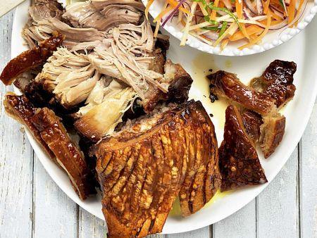 Pulled Pork im Ofen geschmort