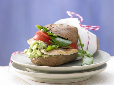 Puten-Avocado-Burger