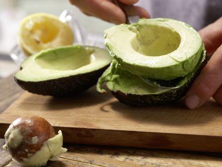 Puten-Avocado-Burger: Zubereitungsschritt 1