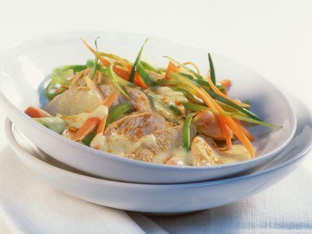Puten-Currygeschnetzeltes