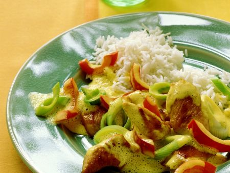 Puten-Gemüsecurry