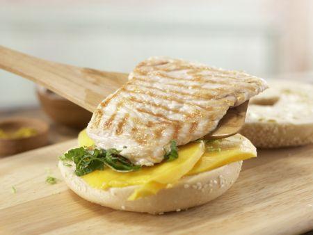 Puten-Sandwich: Zubereitungsschritt 7