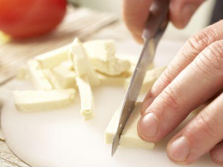 "Puten-Tofu-Geschnetzeltes ""Benjamin"": Zubereitungsschritt 1"