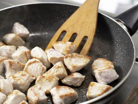 Putenbrust in Honig-Senf-Sauce: Zubereitungsschritt 4