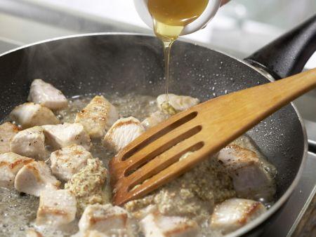 Putenbrust in Honig-Senf-Sauce: Zubereitungsschritt 5