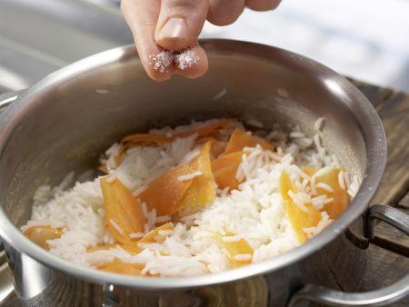 Putenbrust in Honig-Senf-Sauce: Zubereitungsschritt 6