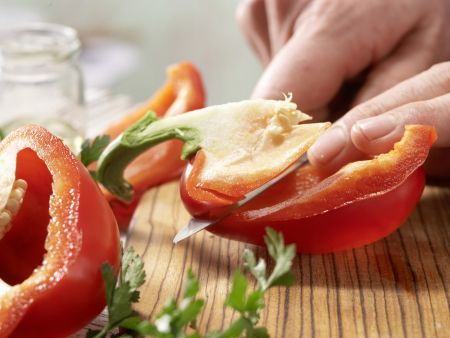 Putenhackbällchen: Zubereitungsschritt 1