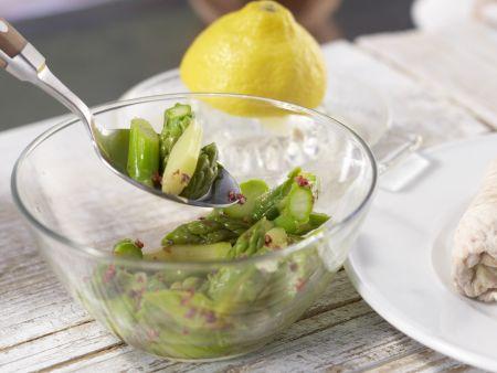 Putenroulade auf Spargelsalat: Zubereitungsschritt 8