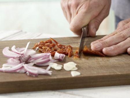 Putenrouladen auf Blattspinat: Zubereitungsschritt 8