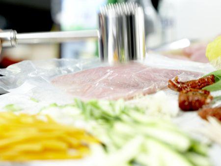 Putenschnitzel mit Lachsschinken: Zubereitungsschritt 3