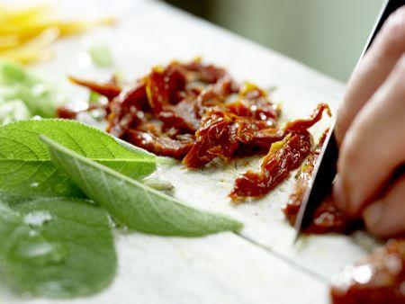 Putenschnitzel mit Lachsschinken: Zubereitungsschritt 4