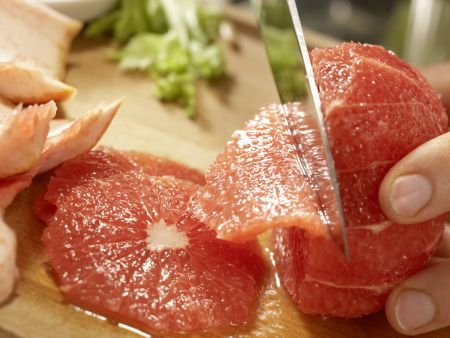 Putenstreifen auf buntem Salat: Zubereitungsschritt 6