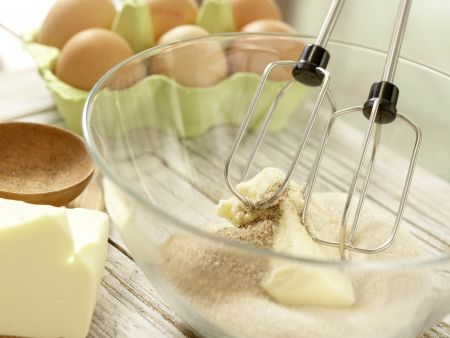 Quarkkuchen: Zubereitungsschritt 2