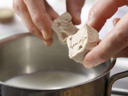 Quarkstollen: Zubereitungsschritt 1