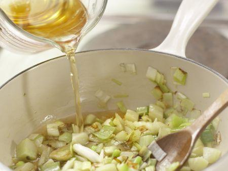 Quinoa mit Lauch: Zubereitungsschritt 5