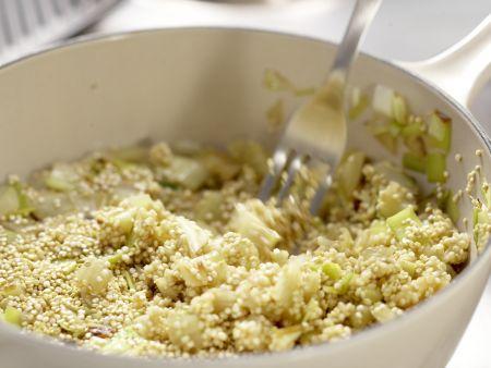 Quinoa mit Lauch: Zubereitungsschritt 7