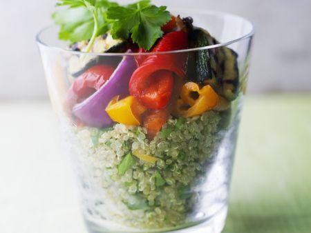 Quinoa-Paprika-Salat