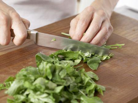 Radieschen-Kartoffel-Suppe: Zubereitungsschritt 1