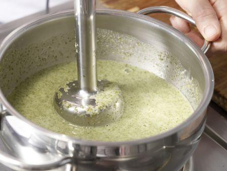 Radieschen-Kartoffel-Suppe: Zubereitungsschritt 8