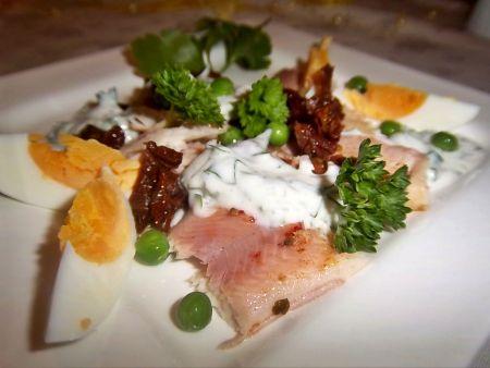Räucherfisch-Salat