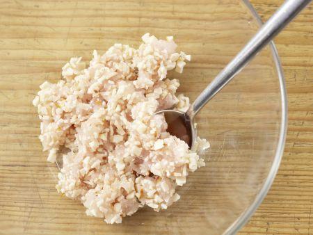 Ravioli mit Hähnchenfüllung: Zubereitungsschritt 4